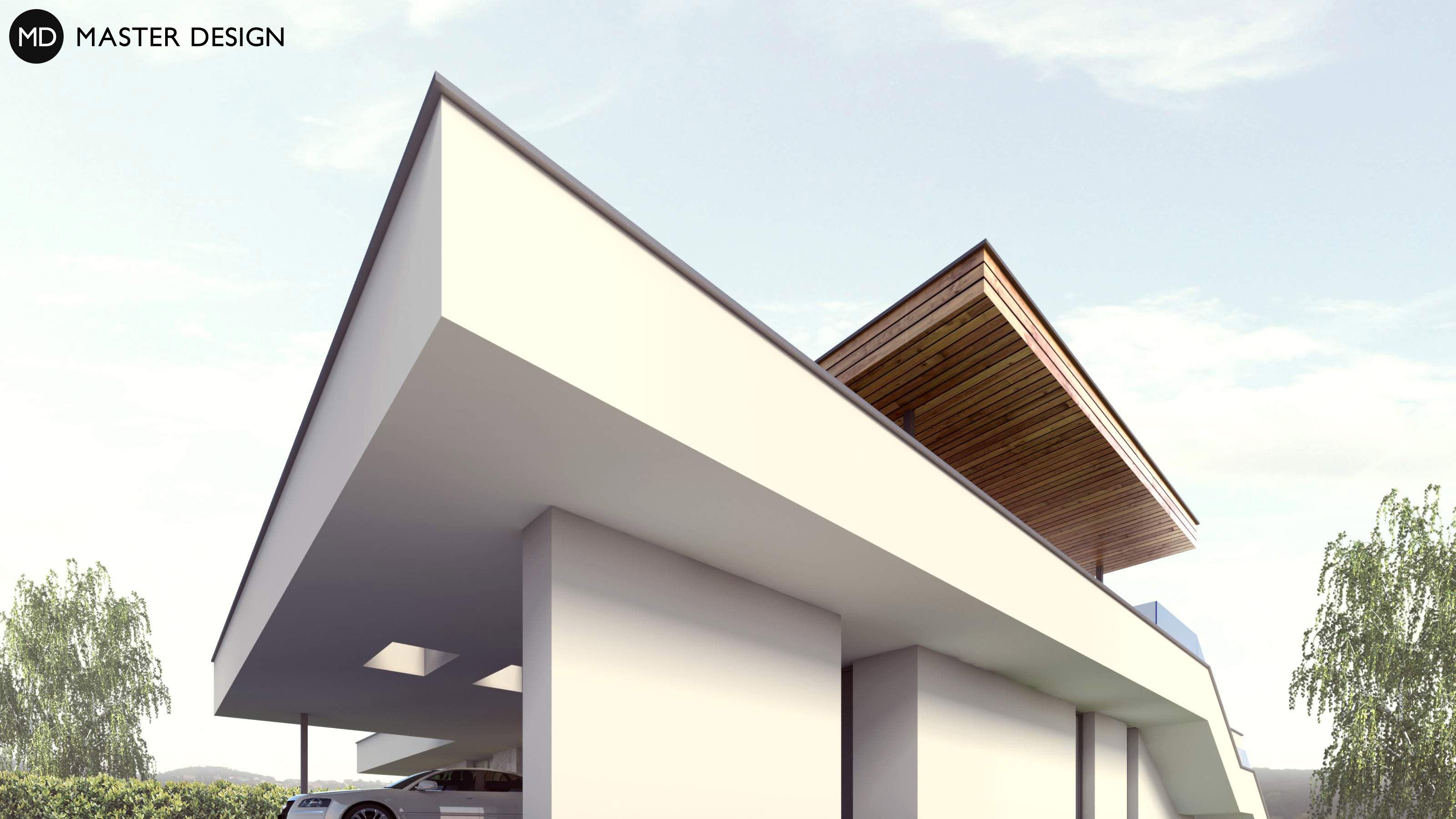 L Shaped Bungalow With Roof Terrace Levín U Berouna
