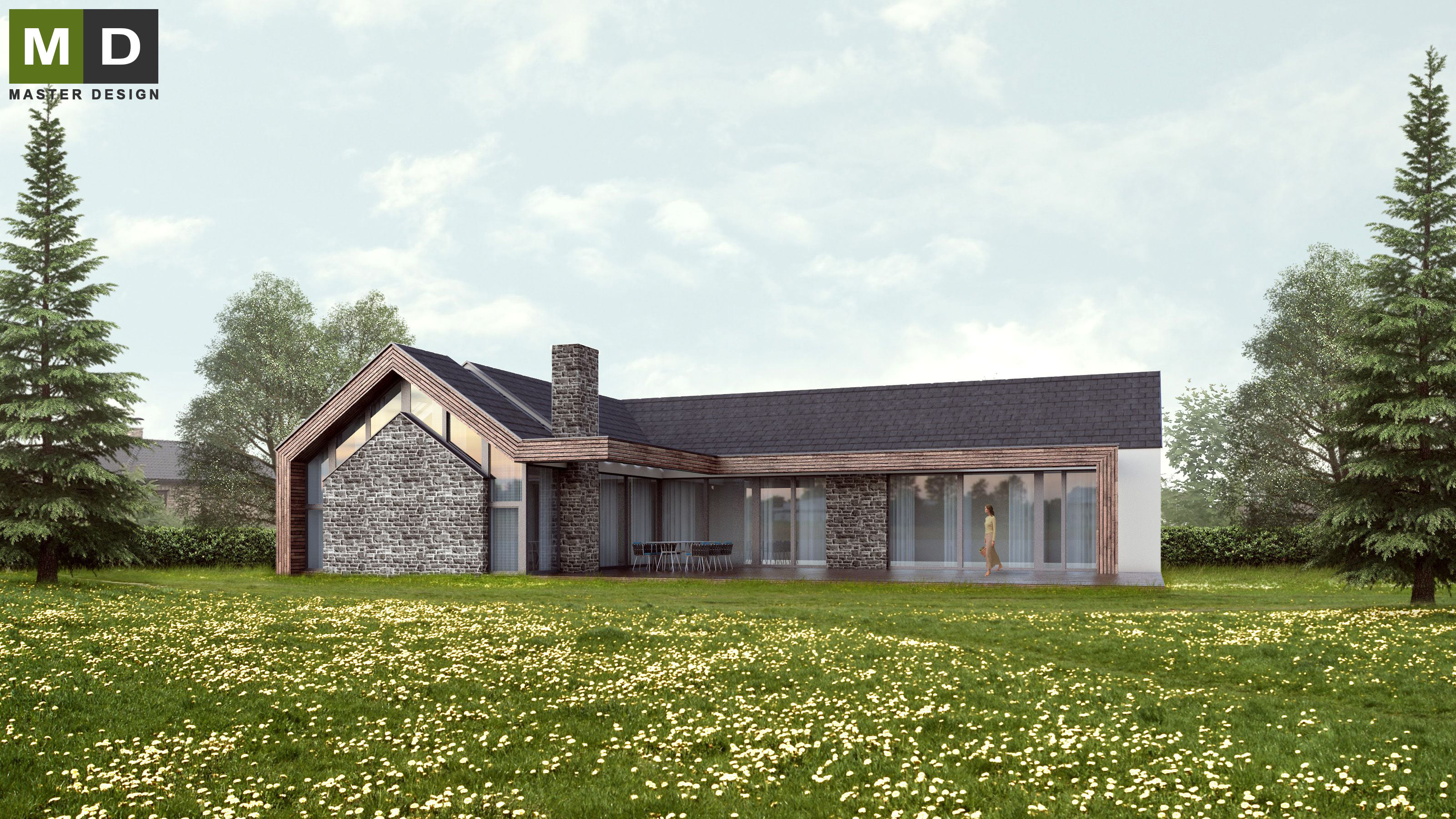 100 Stone And Wood Home With Pleasurable Ideas