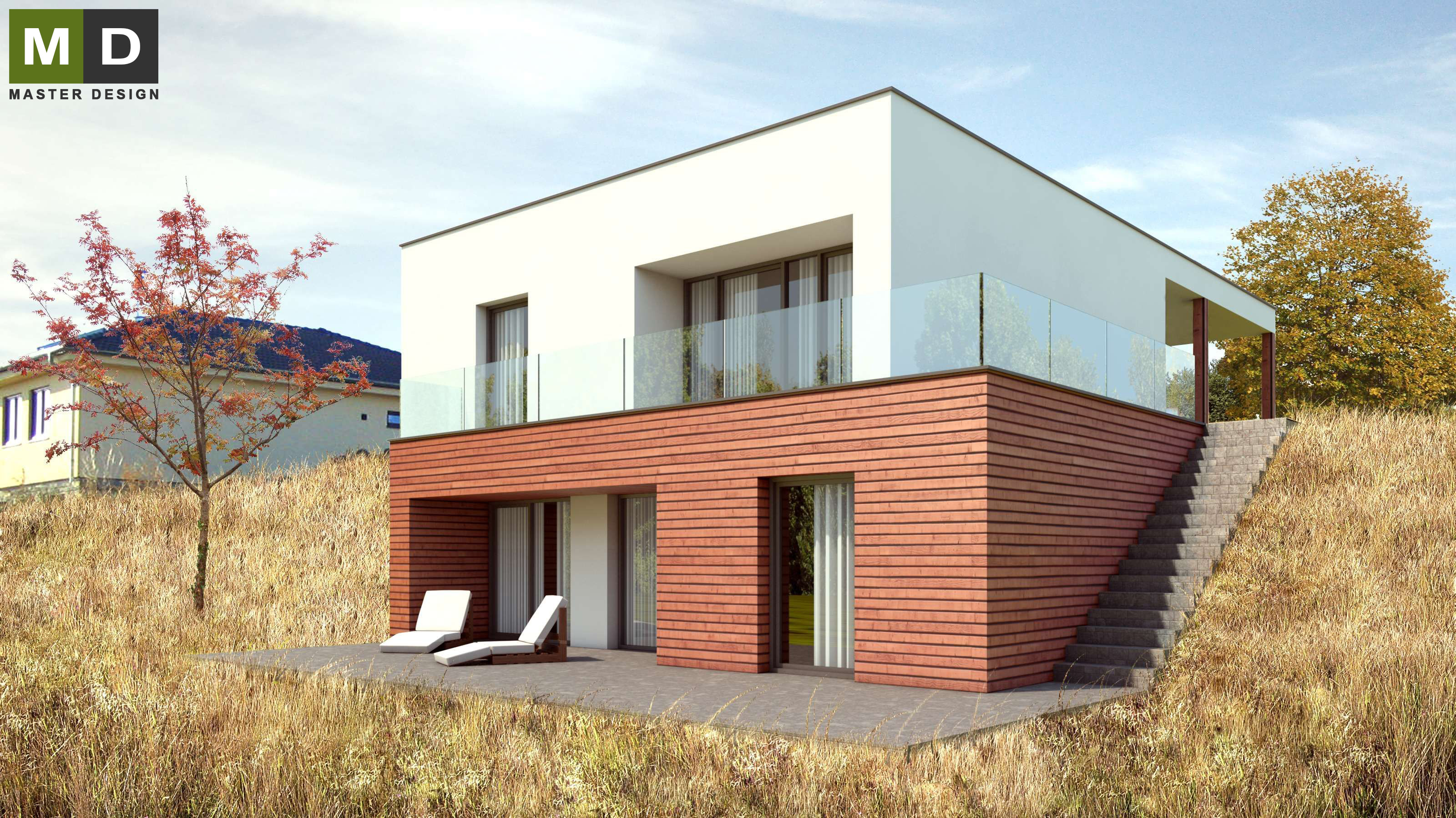 Rodinné Domy Ve Svahu Master Design Architekti